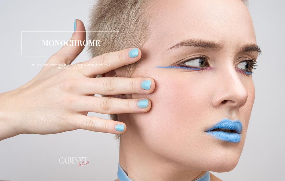 Photographer:AntonBrazhnikov    Model:Ekaterina Budanova   Mua:Nadia Agriiants
