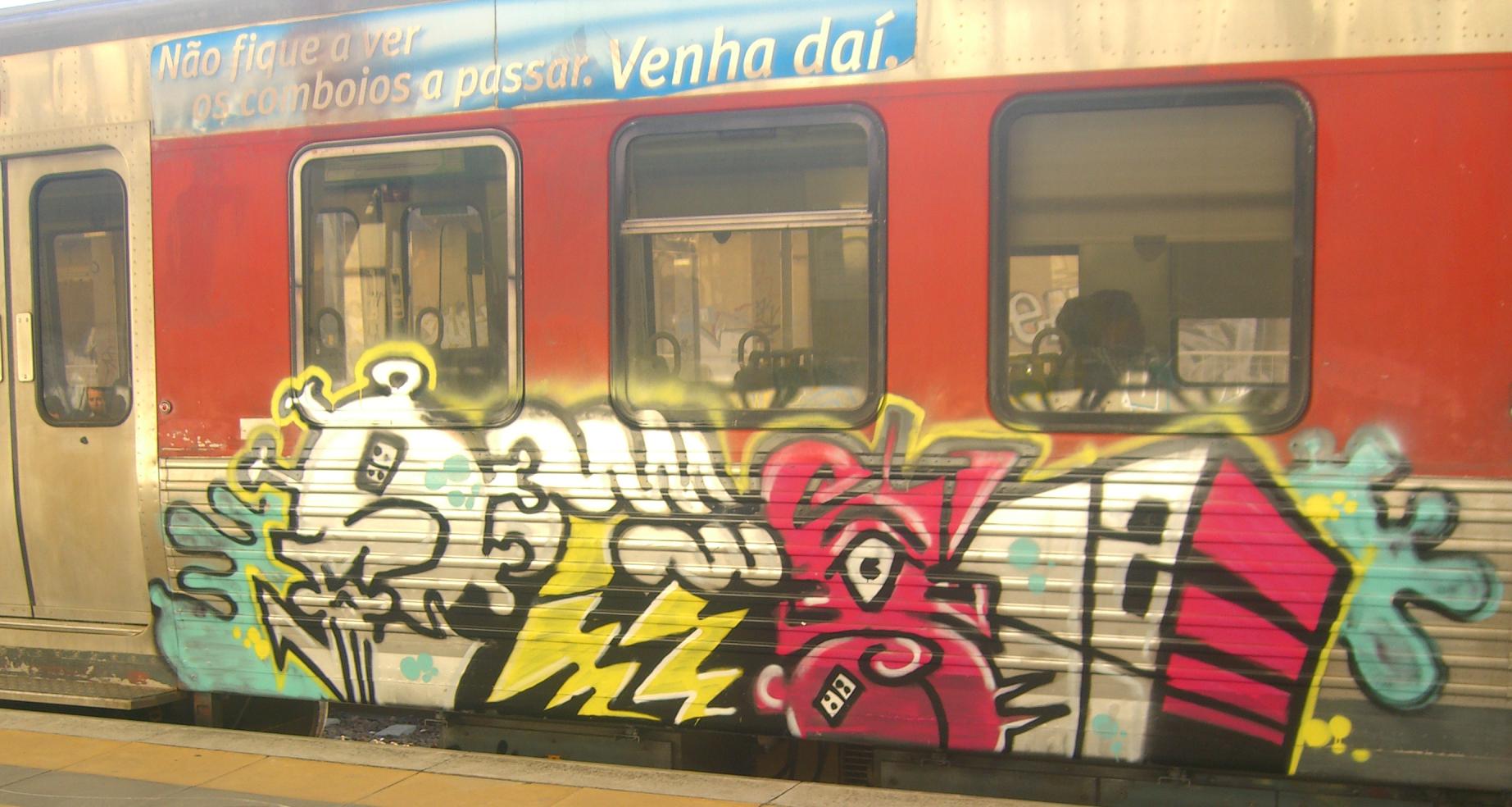 Graffiti_-_European_train