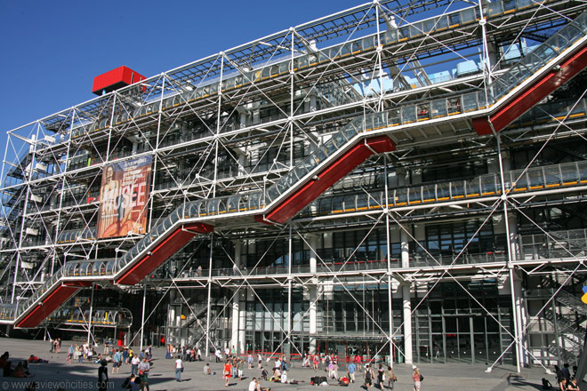 The Centre Pompidou, Paris