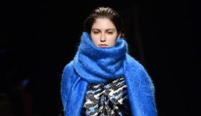 шарф мини