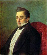 А. С. Грибоедов. Портрет И. Крамского