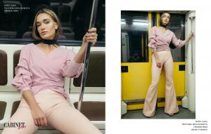 Рубашка Zara, брюки Irina Rubleva, чокер H&M.