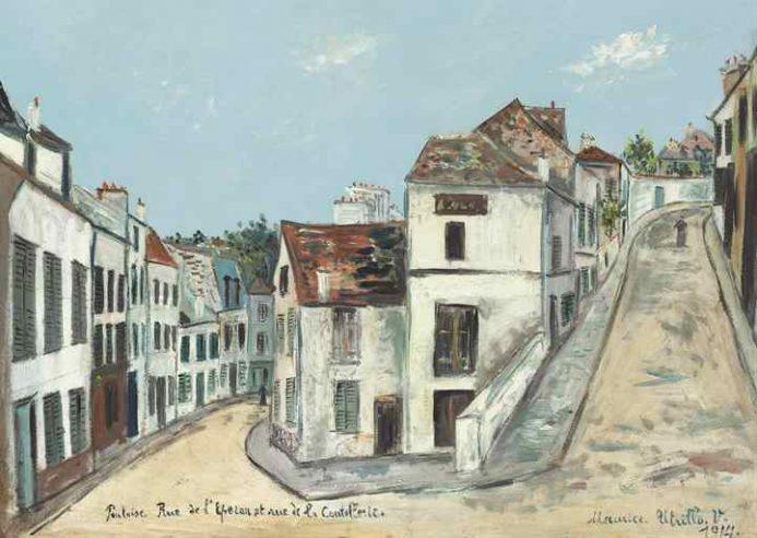 Улицы Эперон и Кутулари. 1914