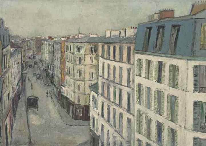 """""""Улица Жонкьер"""",1910"""