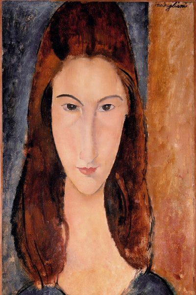 «Портрет Жанны Эбютерн», 1919