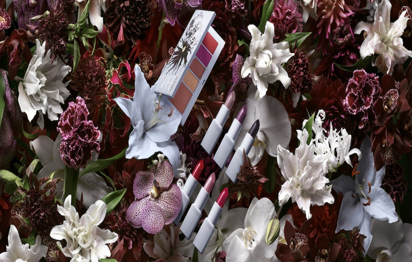 1519288594892162-Erdem-for-NARS-Strange-Flowers-Collection-Stylized-Image-3