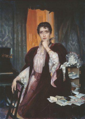 Анна Каренина на картине Г. Манизера