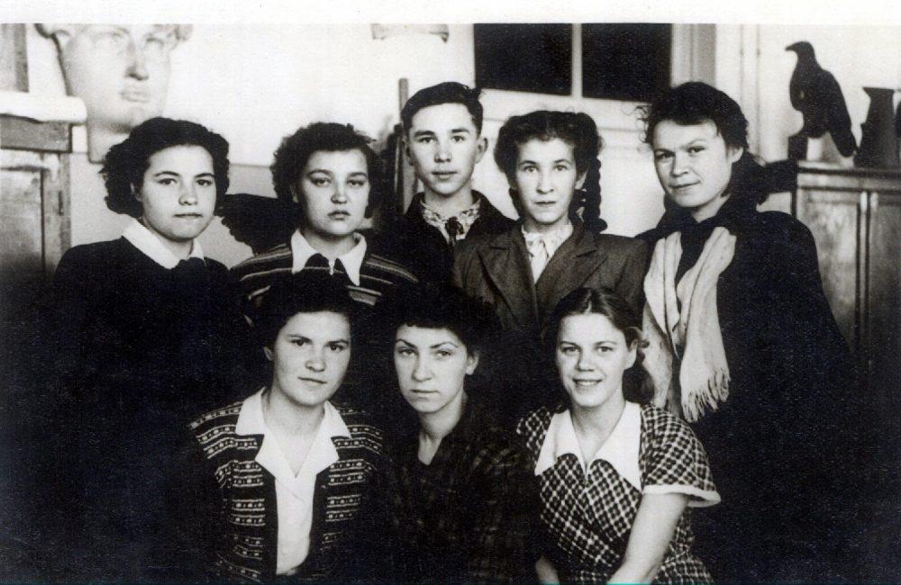 Ивановский химико-технологический техникум, 1953 г
