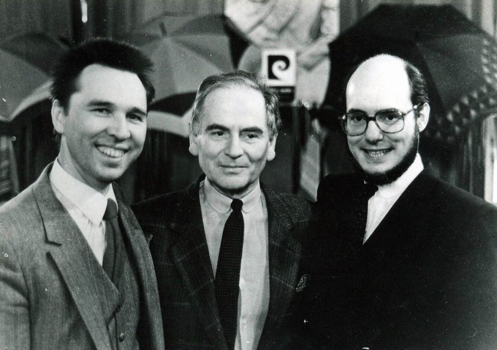 Пьер Карден и Слава Зайцев, 1983 г.