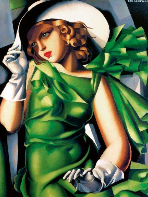 Тамара де Лемпицка «Девушка в перчатках»