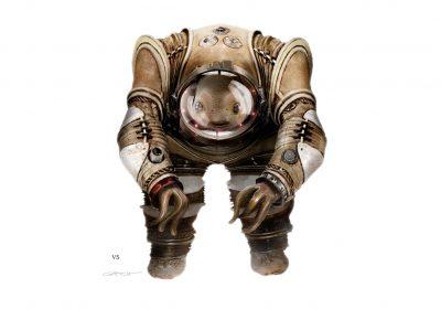 Инопланетянин, эскиз для фильма Валериан и город тысячи планет