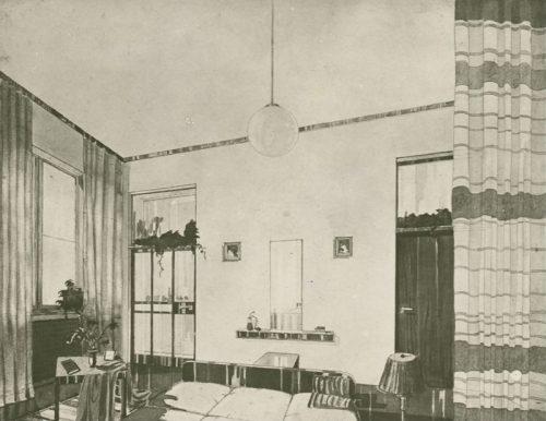 Антонин Урбан «Интерьер спальни в жилом доме» 1935