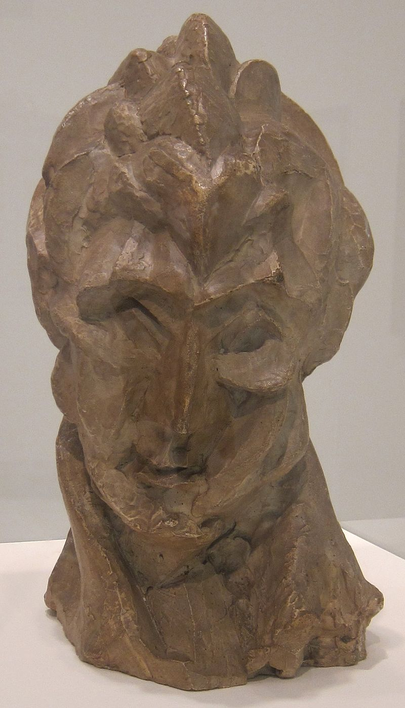 800px-'Head_of_a_Woman_(Fernande)'_by_Pablo_Picasso,_Tate_Modern