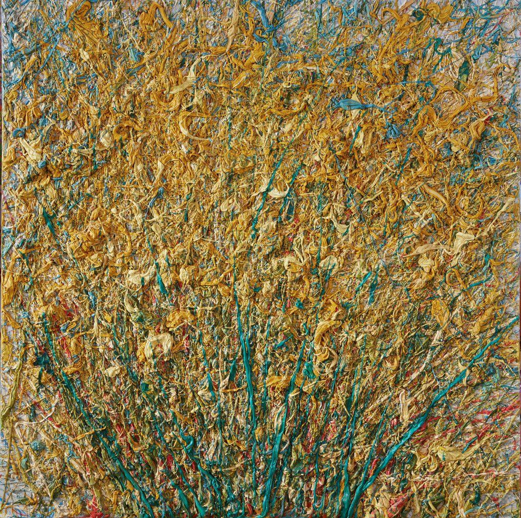 """Золотарник или Золотая розга"", 2011 г., холст, масло, 100 х 120 см, 78 000₽"