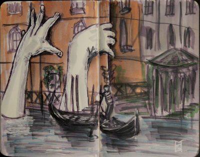 Мечты современного художника - это когда-нибудь поучаствовать в Венецианской биеннале, а реальность - это стремление к этому.