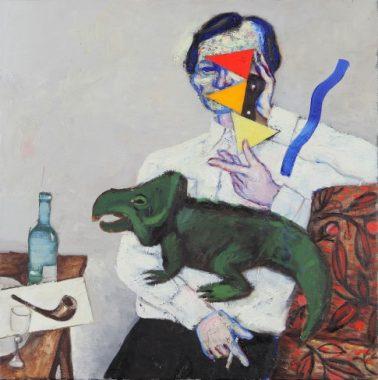 Виктор Пивоваров. Портрет Рубена Варшамова, редактора журнала «Веселые картинки»