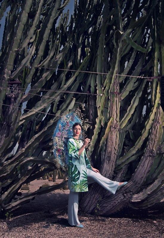 Photographer: Andrey Rossalev Model: Paola Maresca Designer: Ksenia Knyazeva  Muah: Anastasiia Babii Assistants ph: Anya Shklyaeva, Katy Barcelona  Location: Barcelona