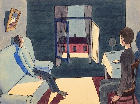 Виктор Пивоваров. Ночной разговор. Из альбома «Действующие лица».