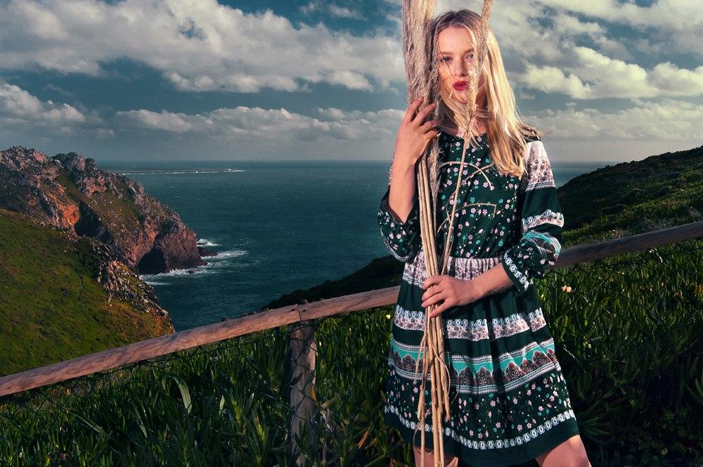 Photographer: Andrey Rossalev Model: Yana Protasova assistants: Manuel Cardoso, @narquois @irenekonova Location: Cabo da Roca, Portugal