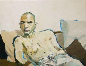 "Валентин Шунков ""автопортрет в белой комнате"""