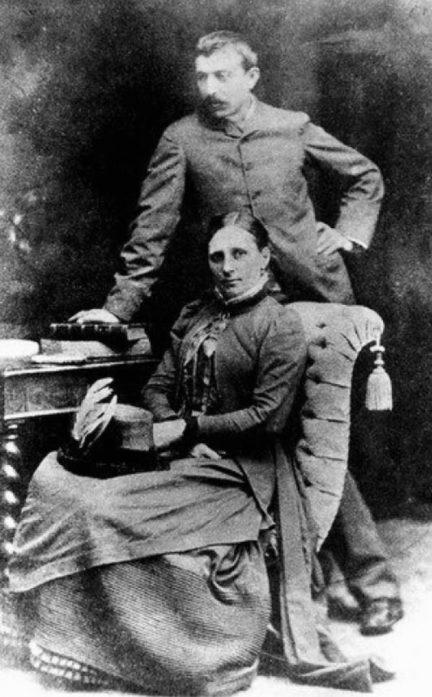 Поль Гоген с женой