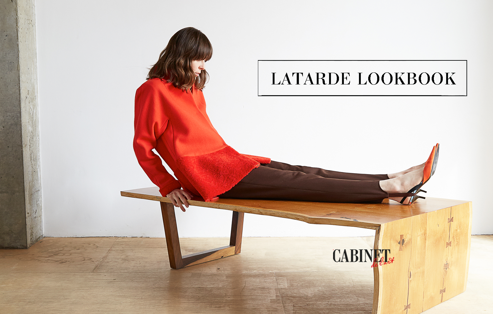 cover -Latarde lookbook