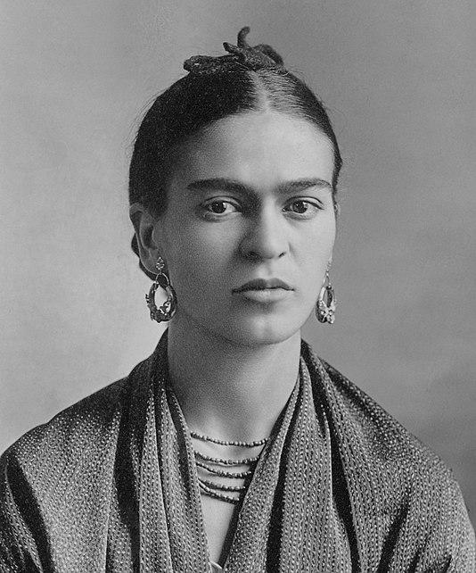 Frida Kahlo.*gelatin silver print.*Oct. 16 / 1932