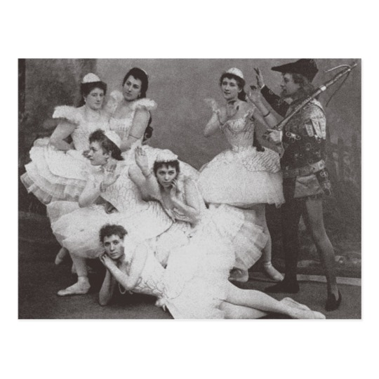 Сцена из постановки 1895-го года