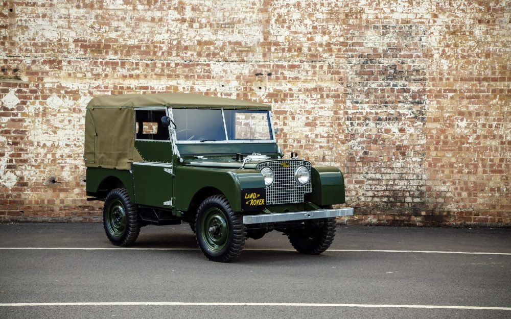 Land Rover Series 1.