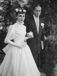 Свадебное платье Живанши для Одри Хепберн