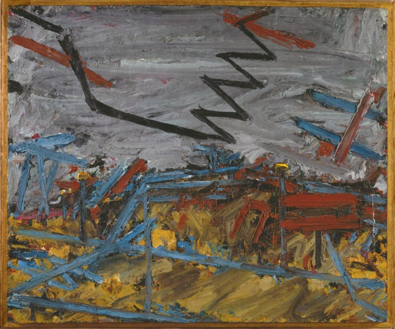 Primrose Hill 1967-8 Frank Auerbach born 1931 Purchased 1971 http://www.tate.org.uk/art/work/T01270