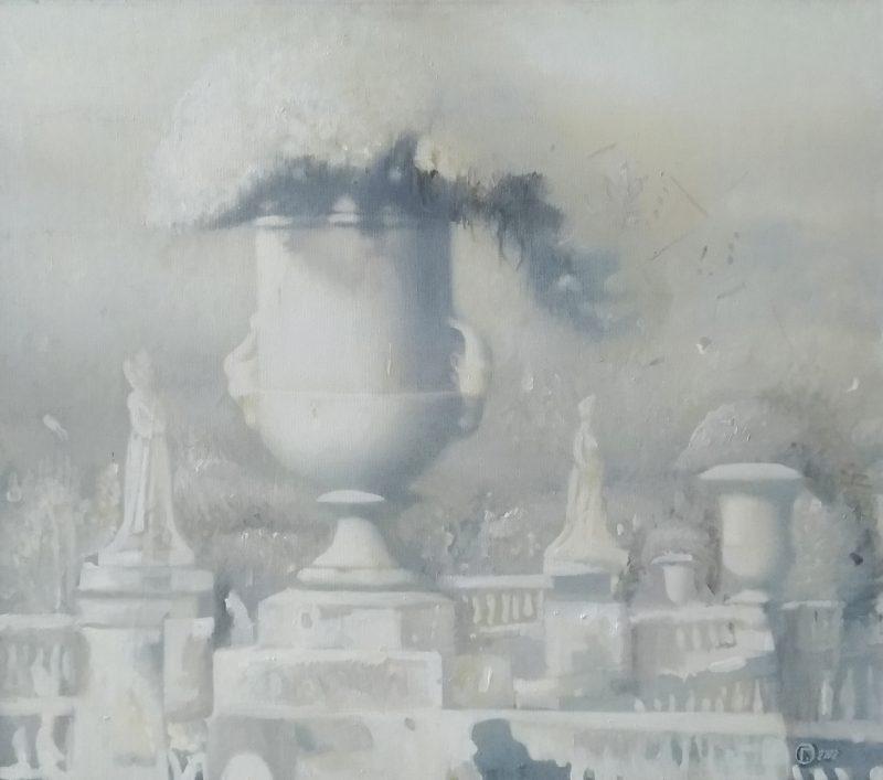 Ольга Гречина. Люксембургский парк. 2002. Холст, масло, 70х70