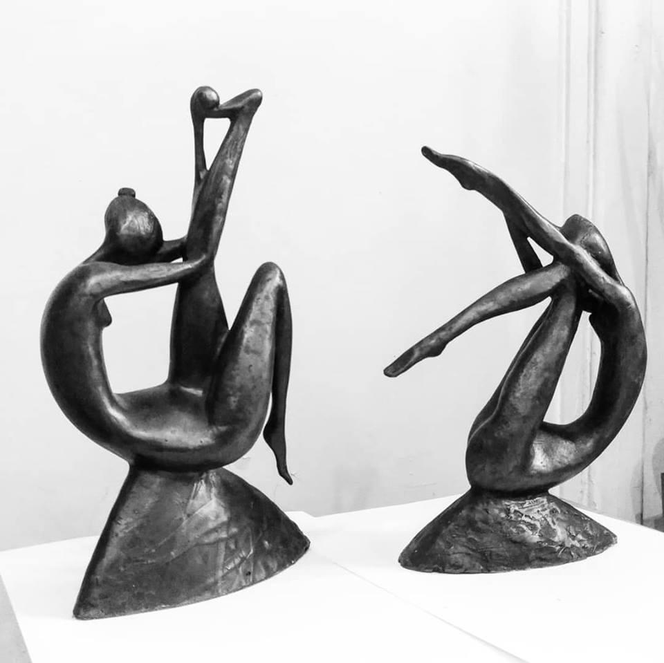 Ольга Карелиц. Скульптура, бронза