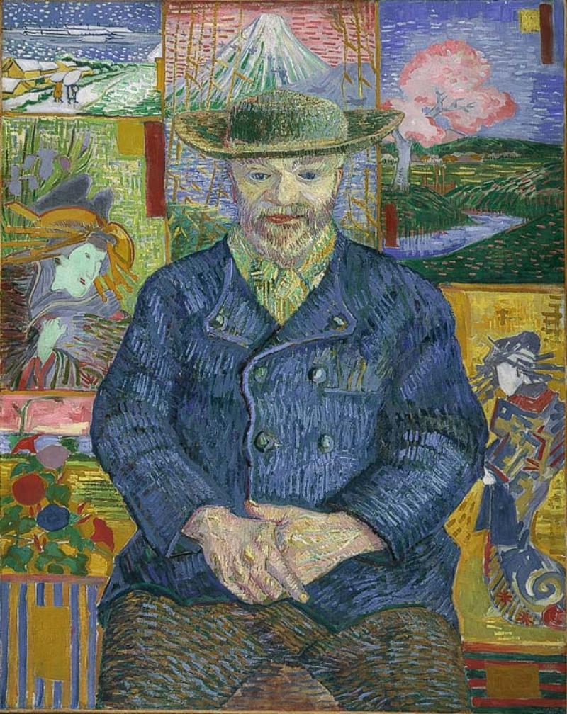 Фото wikipedia.org Van Gogh - Portrait of Pere Tanguy 1887-8