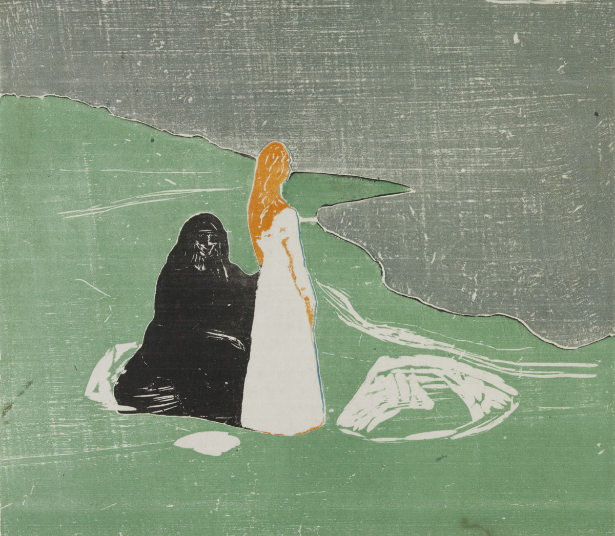 Эдвард Мунк Крик, 1893 Картон, пастель. Первый вариант композиции Музей Мунка (Осло, Норвегия)