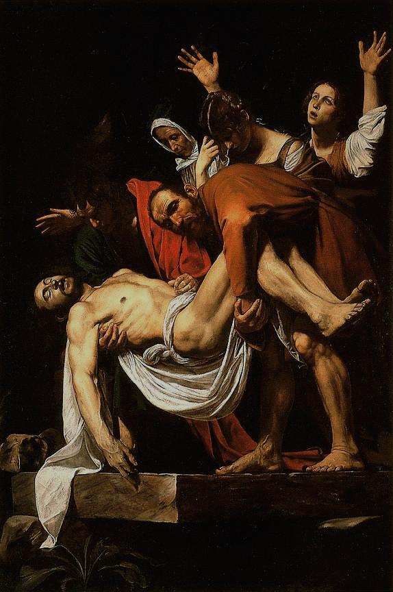 La Deposizione di Cristo.Caravaggio