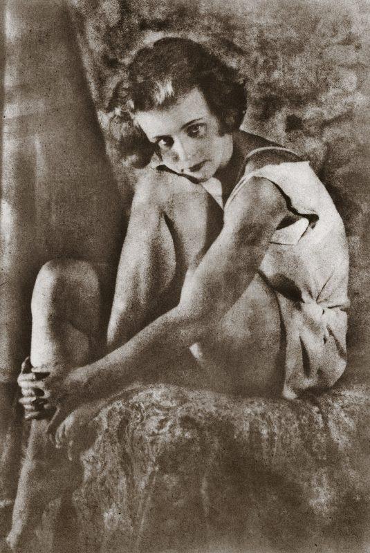 День уходящий. 1923 Авторский серебряно- желатиновый отпечаток МДФ КП-1223/25