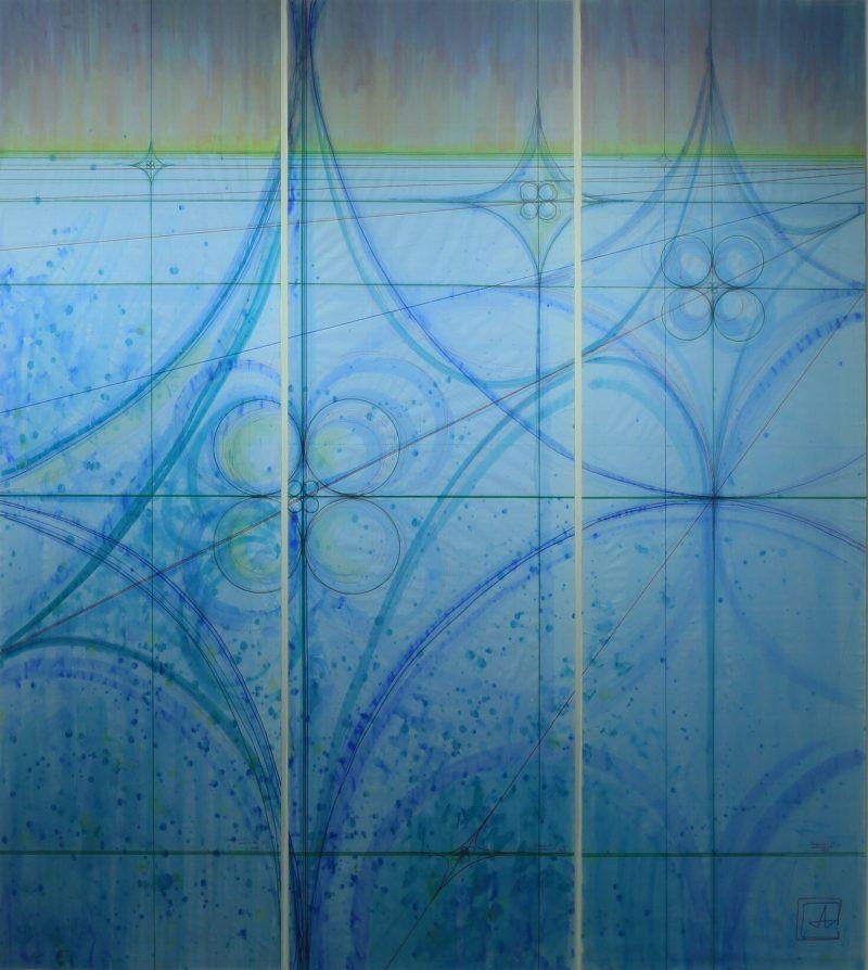 Перекресток в пространстве триптих