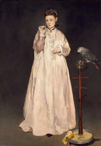 Édouard_Manet -Young Lady in 1866