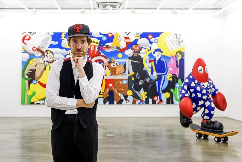 Philip Portrait-Gallery Simon installation view-2019