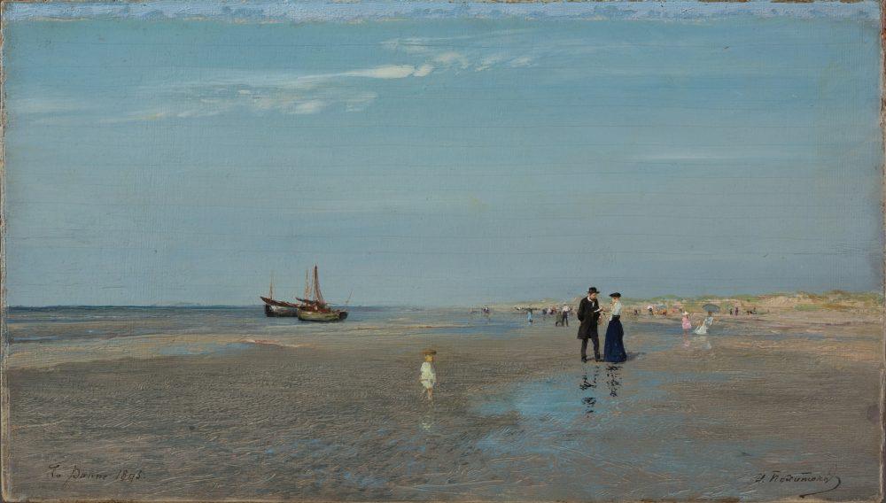 Ла-Панн. Пляж. 1895