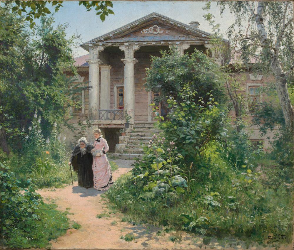 В.Д.Поленов,Бабушкин сад. 1878