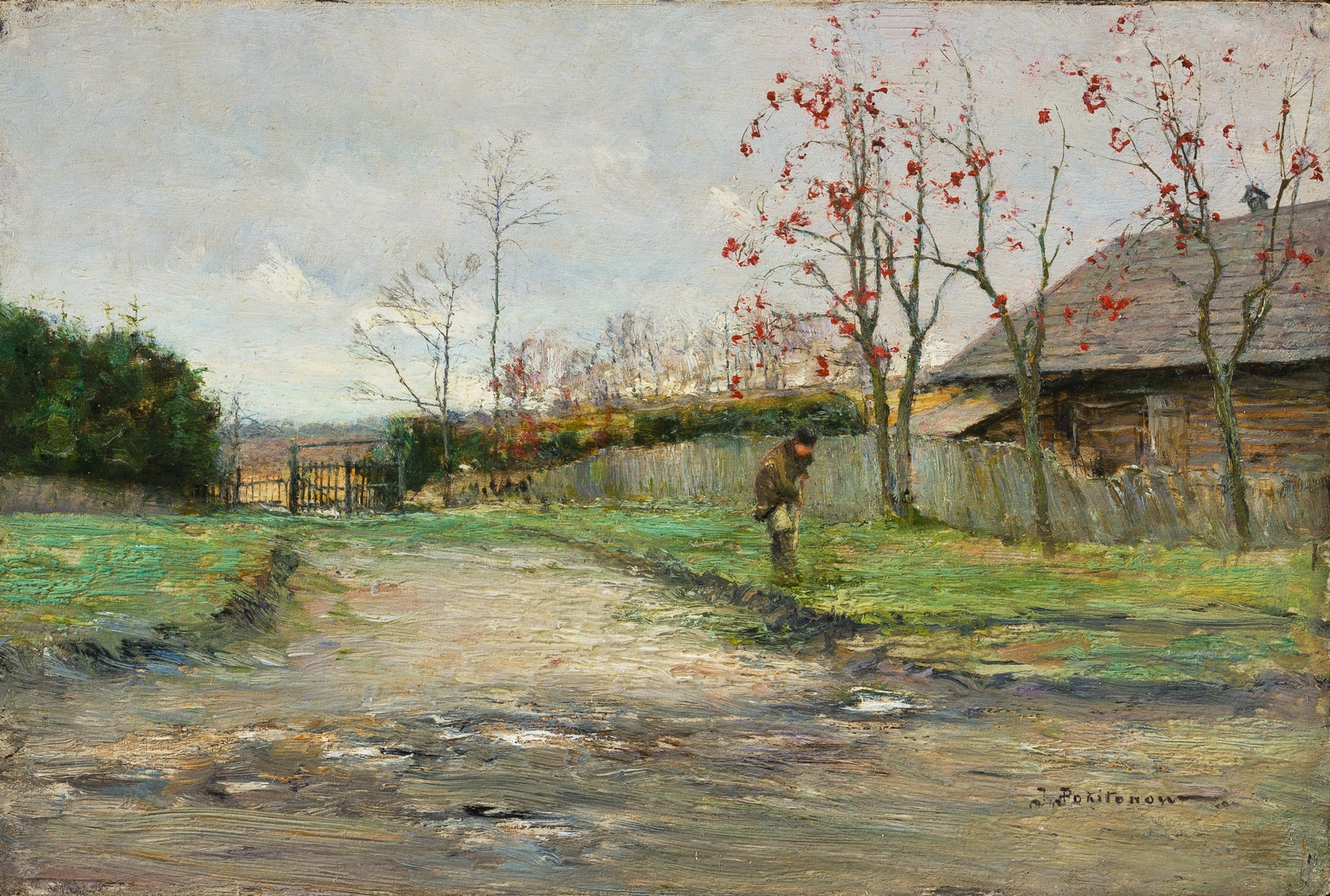 Околица в Жабовщизне. 1904